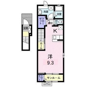 ハイム・コスモス2階Fの間取り画像