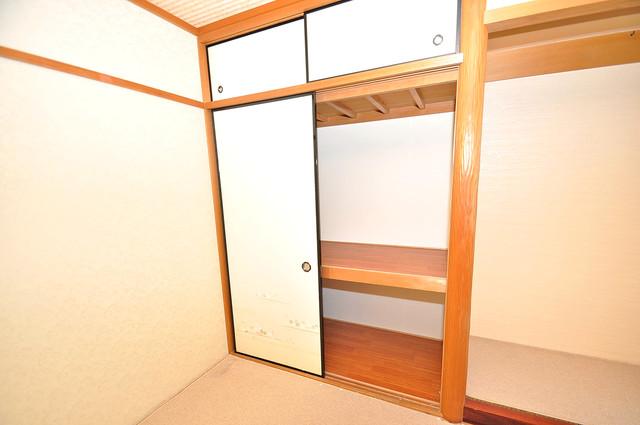 ルシード小阪 もちろん収納スペースも確保。いたれりつくせりのお部屋です。