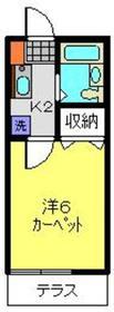 エミネンス・トーアⅠ1階Fの間取り画像