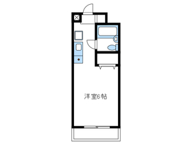 メゾンドヴァルセ3階Fの間取り画像