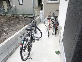 駐輪置き場です!