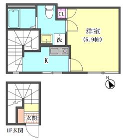 仮)大田区東矢口3丁目1410新築アパート 301号室