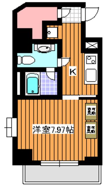 成増駅 徒歩3分間取図