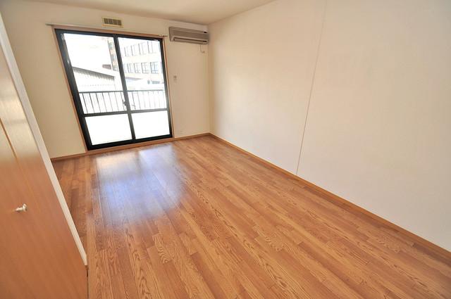 メゾンドゥエスポワール 解放感たっぷりで陽当たりもとても良いそんな贅沢なお部屋です。