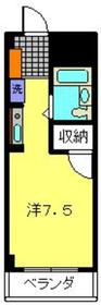 ヴェルドミール6階Fの間取り画像