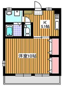 和光市駅 徒歩4分1階Fの間取り画像