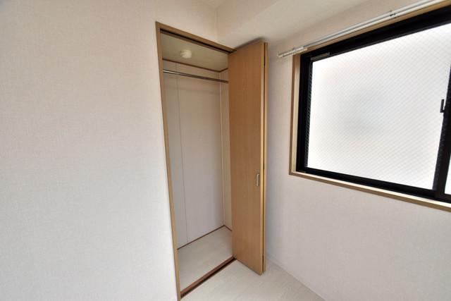 ヴィラサンライフ もちろん収納スペースも確保。いたれりつくせりのお部屋です。