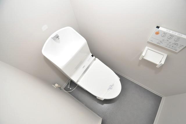 フォレストコート東今里 清潔感のある爽やかなトイレ。誰もがリラックスできる空間です。