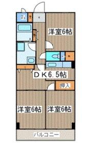 ロードプラザITO2階Fの間取り画像