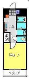 横浜元町ガーデン162階Fの間取り画像