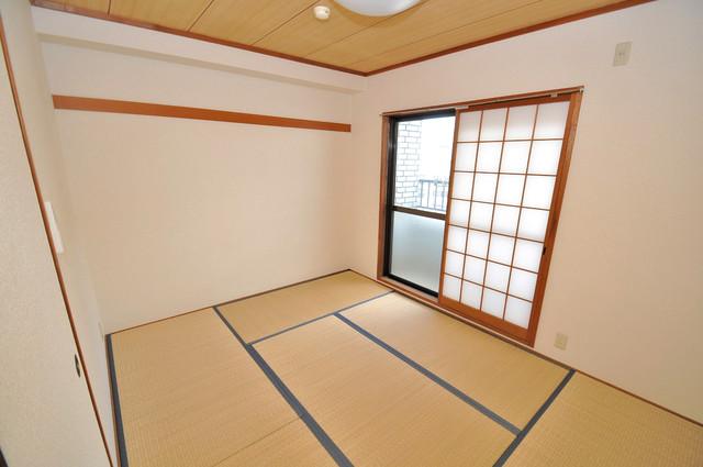 日栄ビル3号館 太陽の温もりと、畳のいい香りが、あなたを包んでくれますよ。