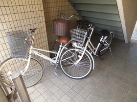 屋内に駐輪可能です!