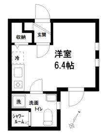 THE ROOM'S東十条2階Fの間取り画像