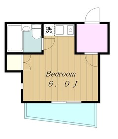 ヴィラージュ・シンワ2階Fの間取り画像
