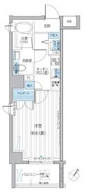 BAUHINIA AKASAKA5階Fの間取り画像