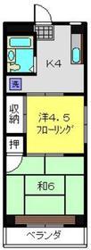 東山田駅 徒歩11分3階Fの間取り画像