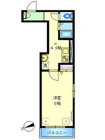 パークメゾン東蒲田3階Fの間取り画像