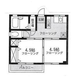 第一浅岡ビル2階Fの間取り画像