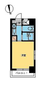 スカイコート早稲田第35階Fの間取り画像