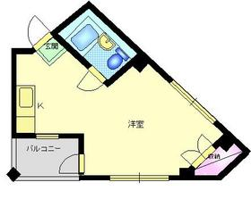 MYビル3階Fの間取り画像
