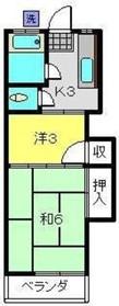 高田駅 徒歩12分2階Fの間取り画像