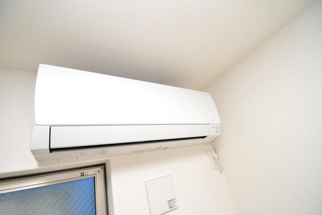 ラモーナ巽南 うれしいエアコン標準装備。快適な生活が送れそうです。