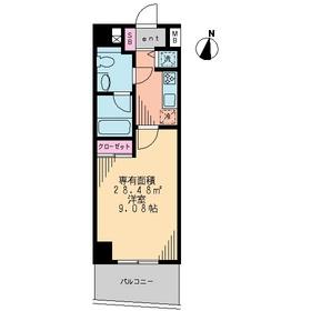 SWEET HILLS3階Fの間取り画像