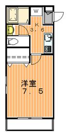 アウグーリ世田谷2階Fの間取り画像