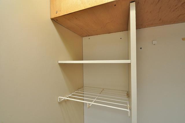 サニーマンション コンパクトながら収納スペースもちゃんとありますよ。