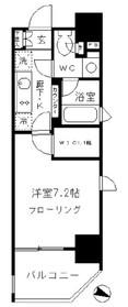 赤羽橋駅 徒歩4分3階Fの間取り画像