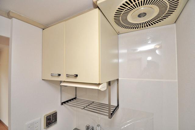 ラフォーレ菱屋西Ⅱ キッチン棚も付いていて食器収納も困りませんね。