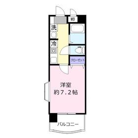 ベラヴィスタ8階Fの間取り画像