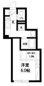 モンクレール石神井1階Fの間取り画像