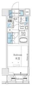 ベルファース大塚10階Fの間取り画像