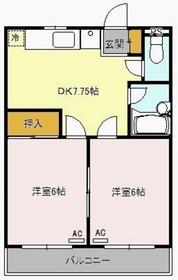 ウィンザー篠崎2階Fの間取り画像