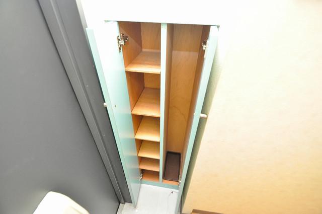 スパジオビィータ もちろん収納スペースも確保。お部屋がスッキリ片付きますね。