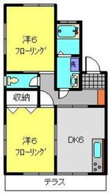 大倉山駅 徒歩15分1階Fの間取り画像