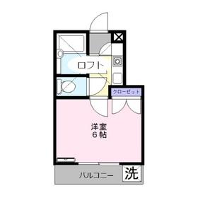 アピア志木1階Fの間取り画像