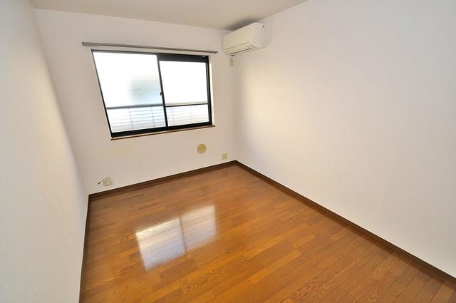 エステートピアナカタC棟 明るいお部屋は風通しも良く、心地よい気分になります。