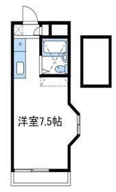 ジュネパレス座間第52階Fの間取り画像