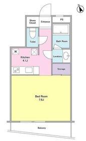 パールハイム3階Fの間取り画像