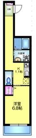 仮称)メゾンデルミエール3階Fの間取り画像
