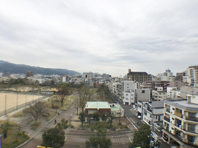 7階の眺望です。