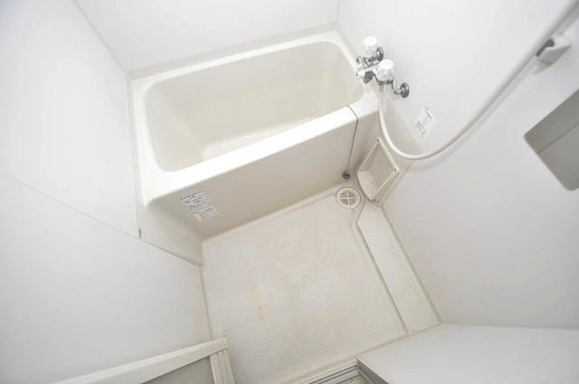 アンソレイユ菱屋西 広めのお風呂は一日の疲れを癒してくれます。
