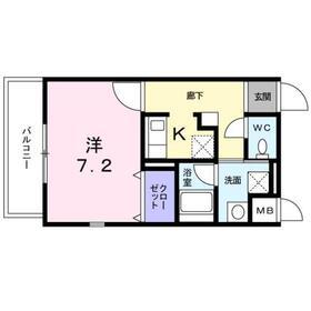 北久里浜駅 徒歩4分3階Fの間取り画像
