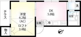 京急田浦駅 徒歩8分01階Fの間取り画像