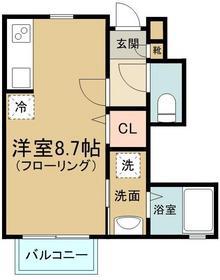 ☆全室角部屋。高台で日当り風通しよし☆