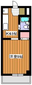 成増駅 徒歩7分2階Fの間取り画像