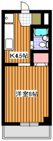 西高島平駅 徒歩26分2階Fの間取り画像