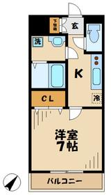 高座渋谷駅 徒歩20分2階Fの間取り画像